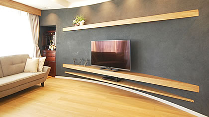オーダー家具事例「テレビ・オーディオ関連」