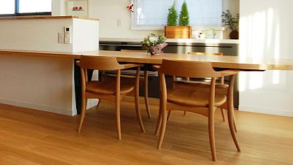 オーダー家具事例「テーブル・椅子関連」